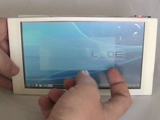 Letux 7004 – GTA04 Tablet